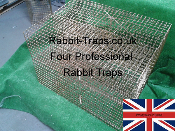 Rabbit-Traps.co.uk pack of four professional rabbit traps